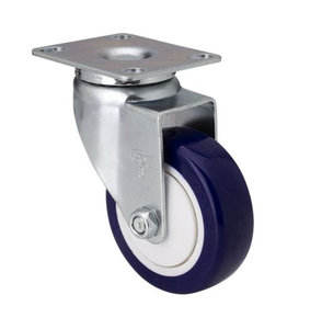 "Small Swivel Casters Zinc 3"" 80kg"