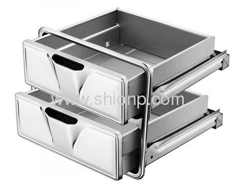 Stainless Kitchen Drawers