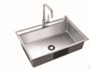 China Handmade Stainless Steel Sink