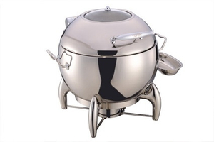 Oval Chafing Dish with Glass Lid