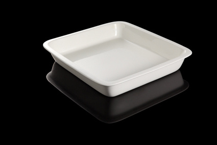 Round Porcelain Food Pan