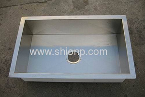 China Single Basin Drop in Kitchen Sink