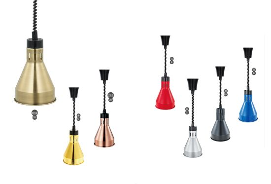 Commercial Food Warming Lamps